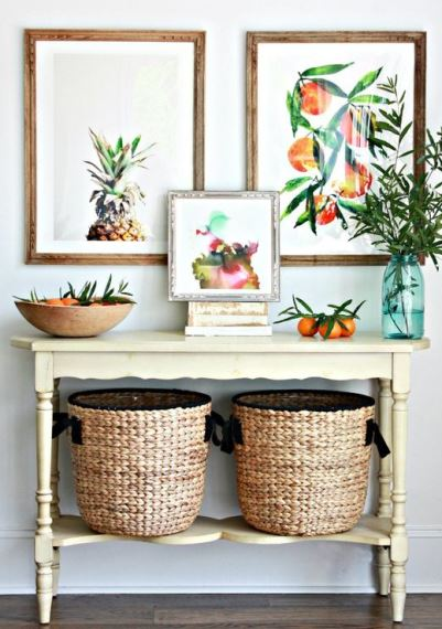 Summer Baskets decoration ideas7