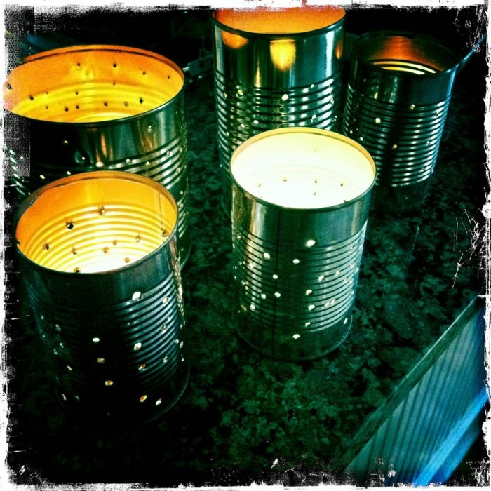 diy lanterns from metal cans12