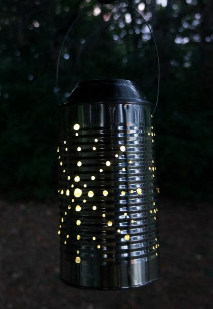 diy lanterns from metal cans3