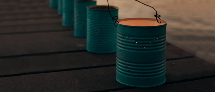 diy lanterns from metal cans7
