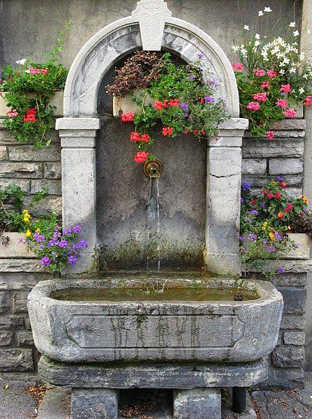 30 Beautiful And Fairy Stone Fountains My Desired Home