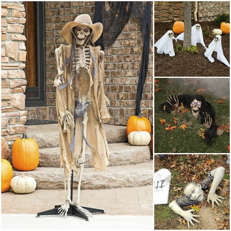40 garden decorations for halloween flags for Home and garden halloween decorations