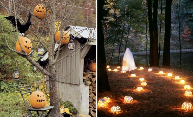 halloween decor for the garden1 - Halloween Deco