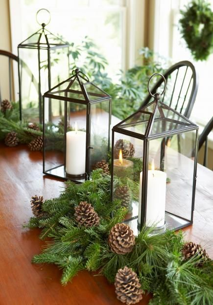 Christmas decoration ideas with natural materials my