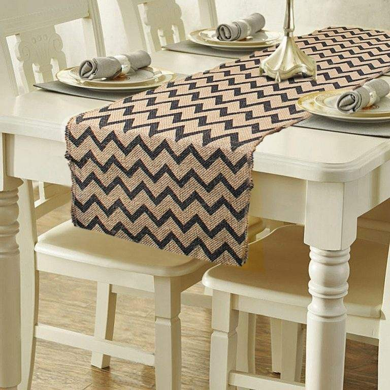 Burlap Table Runner ideas (10)