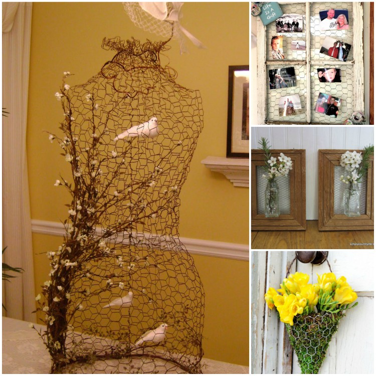 DIY ideas with wire mesh