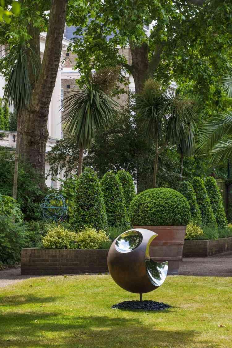Modern sculpture for garden (5)
