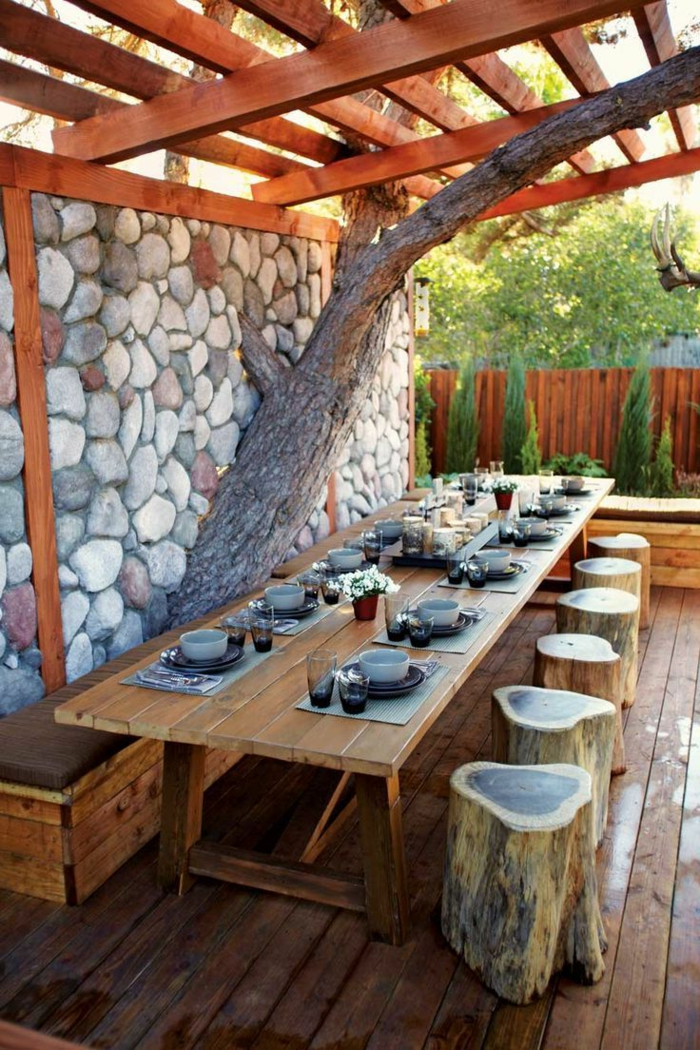 Rustic garden furniture11