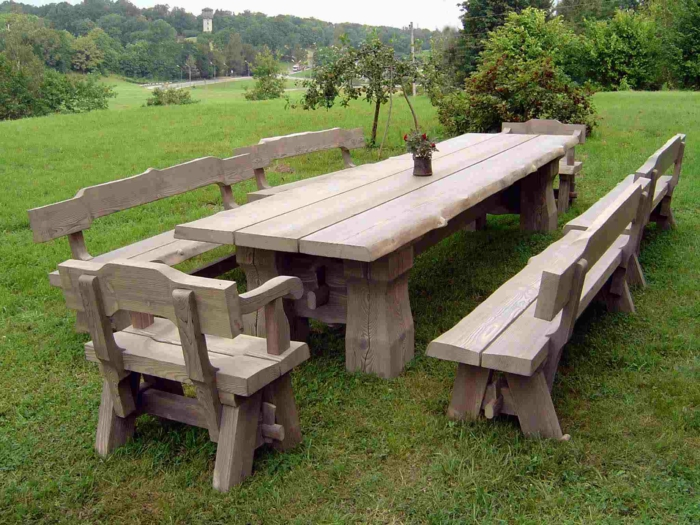 Rustic garden furniture12