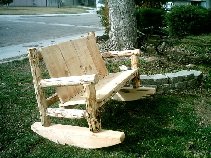Rustic garden furniture4