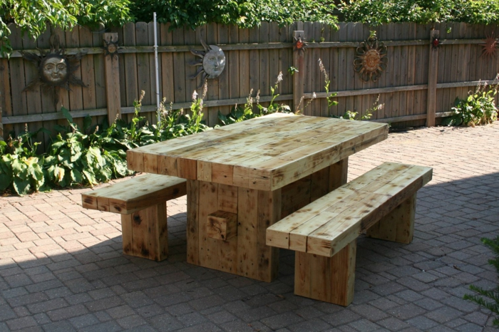 Rustic garden furniture5