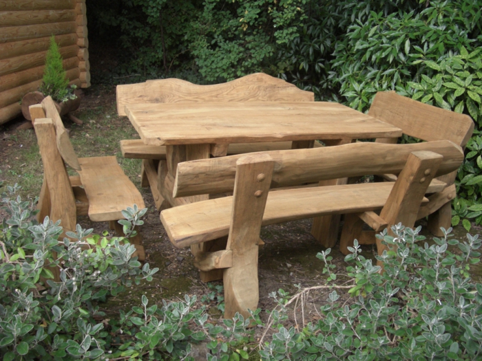Rustic garden furniture6