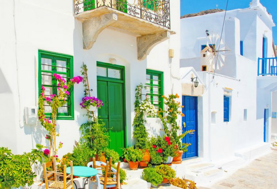 colorful Greek island Amorgos1