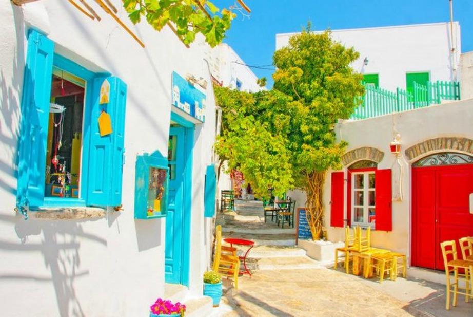 colorful Greek island Amorgos11