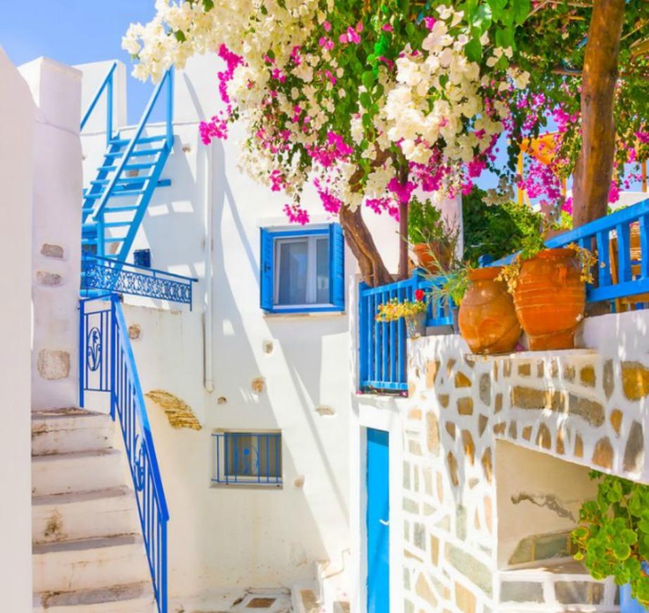 colorful Greek island Amorgos12