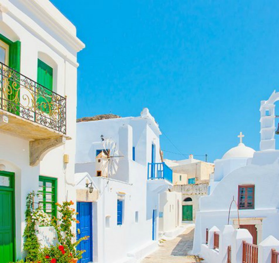 colorful Greek island Amorgos13