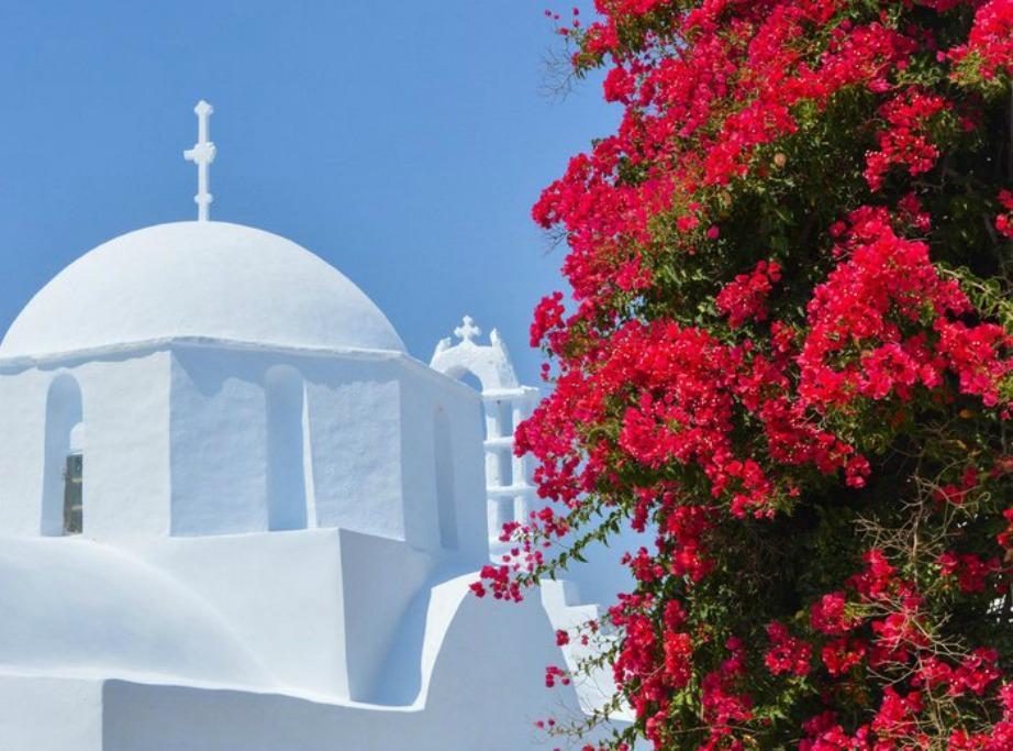 colorful Greek island Amorgos2