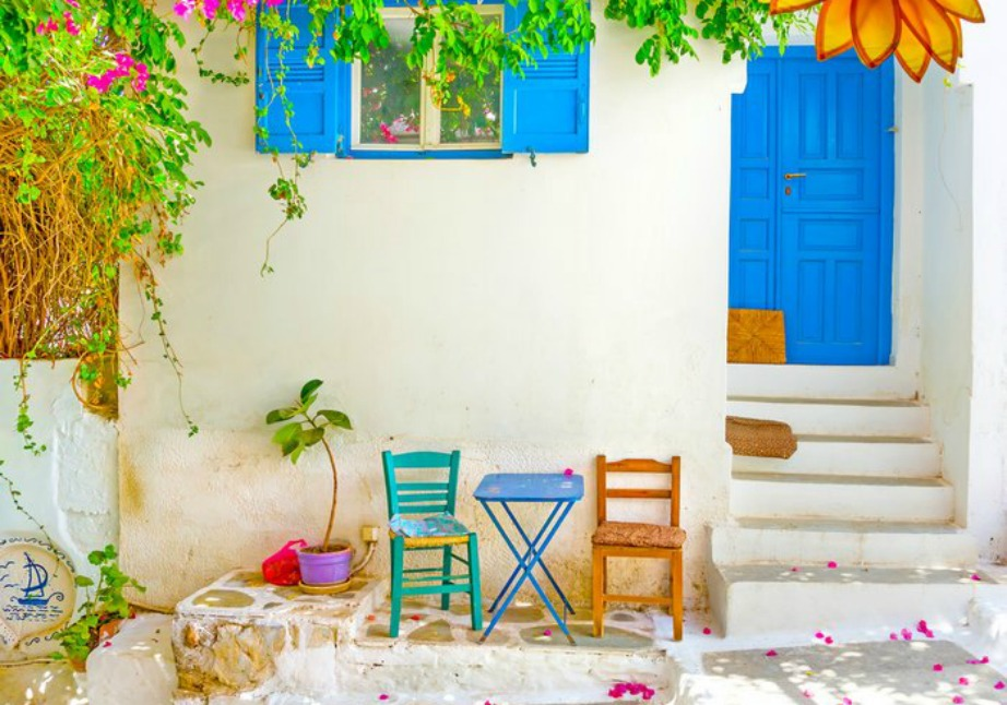 colorful Greek island Amorgos6