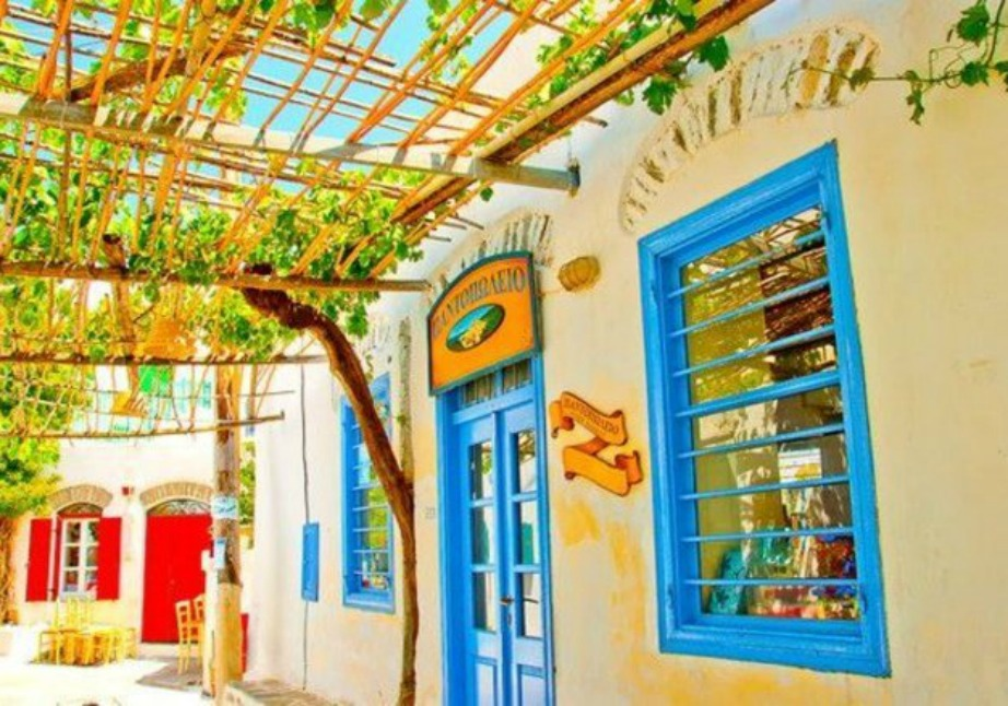 colorful Greek island Amorgos7