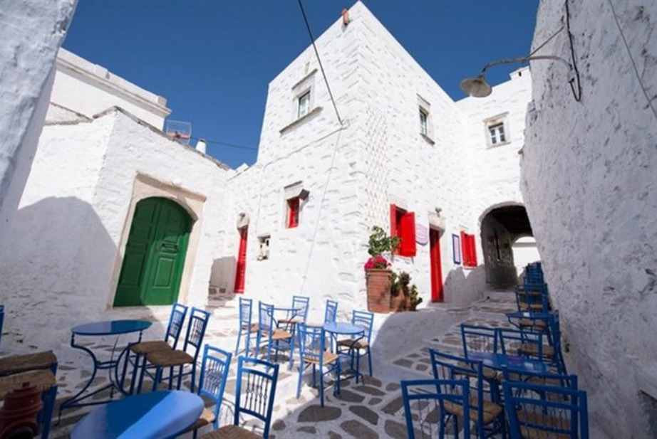 colorful Greek island Amorgos9