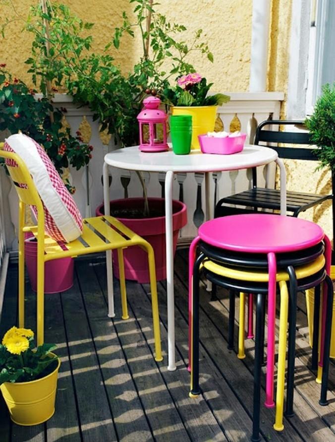 small balcony ideas38
