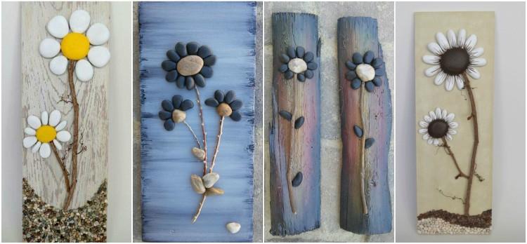 Decorative stones art