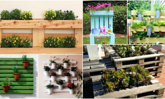 Pallet wooden planter ideas 34 models to do yourself my desired home pallet wooden planter ideas 34 models to do yourself solutioingenieria Image collections
