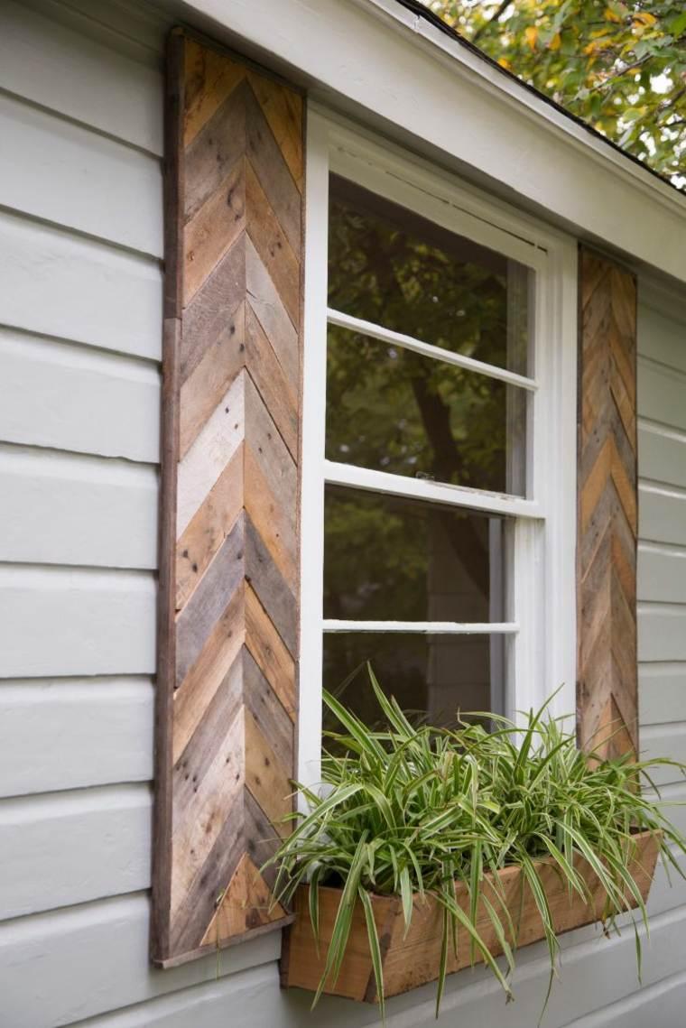 Pallet wooden planter ideas19