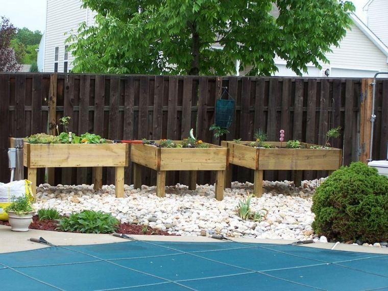 Pallet wooden planter ideas25