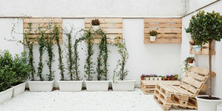 Pallet wooden planter ideas3