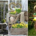 Shabby Chic garden decoration (1)