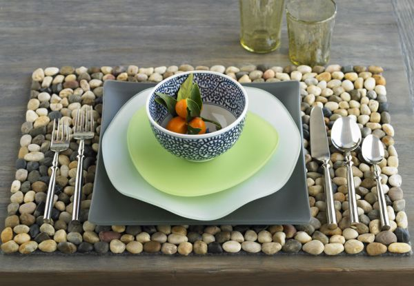 decorate your house with river stones8