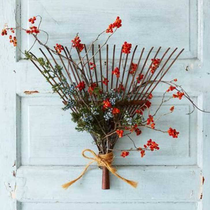 decoration ideas from an old rake12
