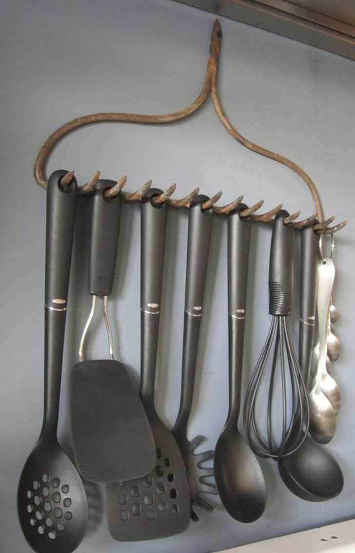 decoration ideas from an old rake8