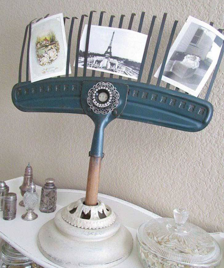 decoration ideas from an old rake9