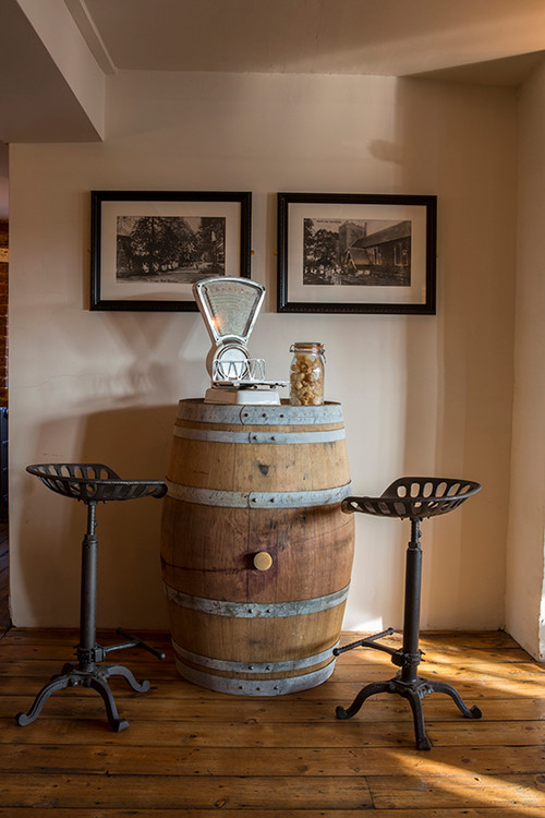 decoration with reclaimed barrels10
