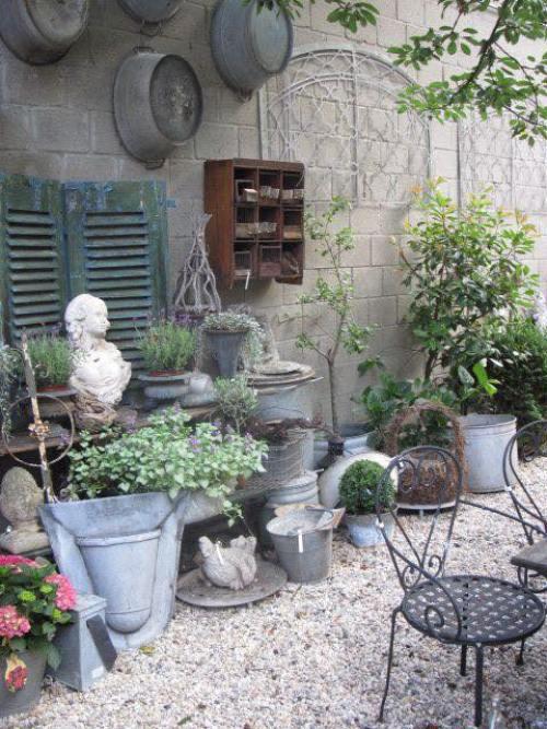 yard Vintage style decoration2