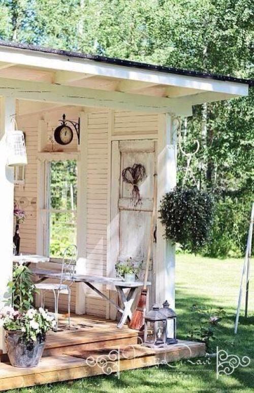 yard Vintage style decoration4