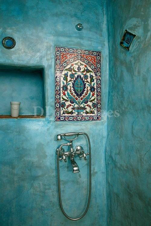 Bohemian style in the bathroom2
