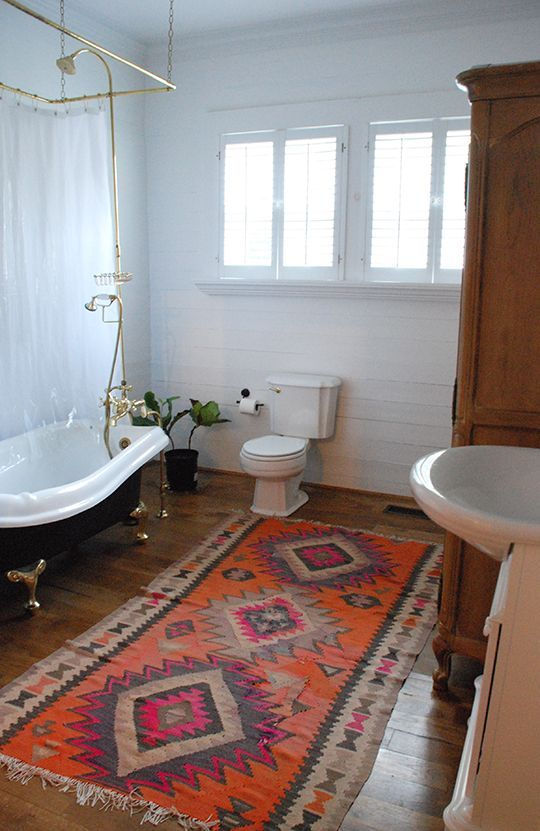 Bohemian style in the bathroom4