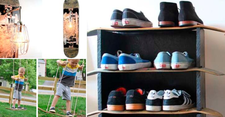 DIY Ideas With Skateboards