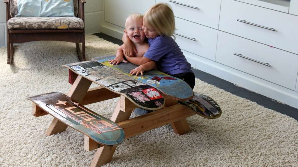 DIY Ideas With Skateboards1