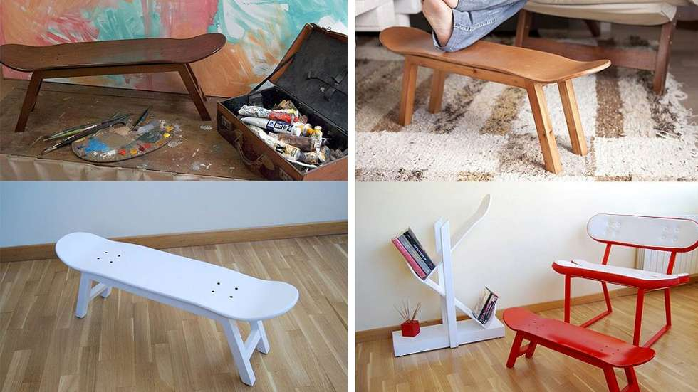 DIY Ideas With Skateboards10