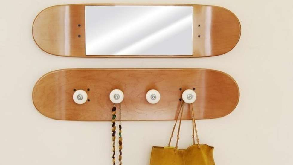 DIY Ideas With Skateboards2