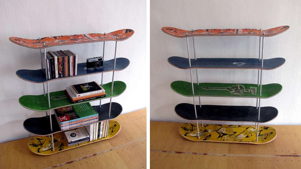 DIY Ideas With Skateboards4