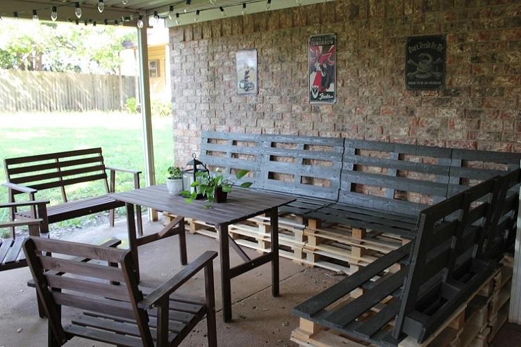 Garden Furniture from pallets11
