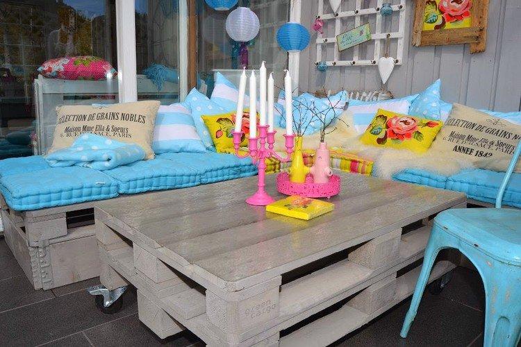 Garden Furniture from pallets2