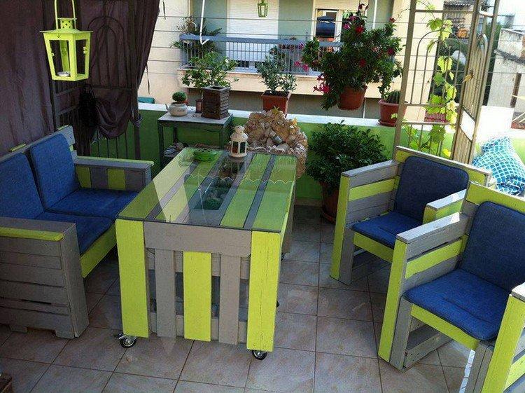 Garden Furniture from pallets20