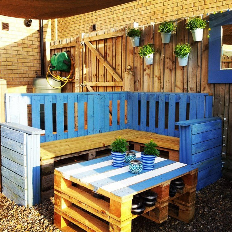 Garden Furniture from pallets4