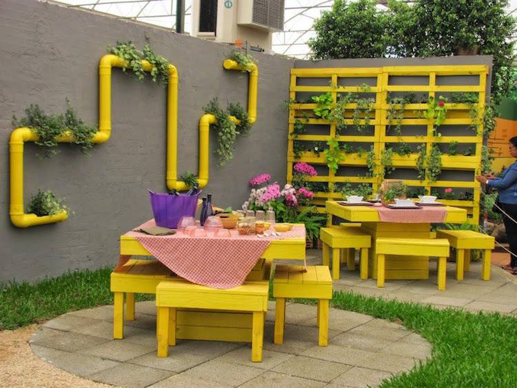 Pallet garden furniture18